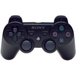 Official Sony PS3 Dualshock Controller Black