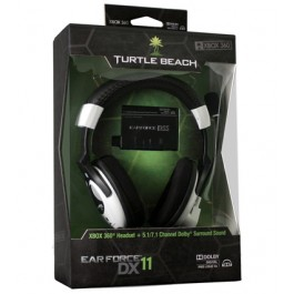 Turtle Beach Ear Force DX11 Headset Bundle with 7.1 Dolby Surround Sound