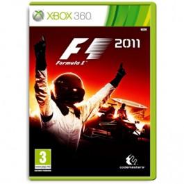 F1 2011 Formula 1 Xbox 360