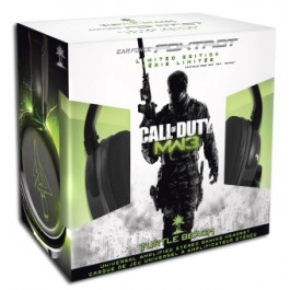Turtle Beach Licenced COD MW3 Ear Force Foxtrot PX21 Headset PS Xbox 360 PC Mac