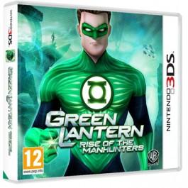 Green Lantern Rise of the Manhunters Nintendo 3DS