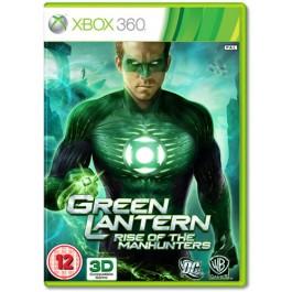 Green Lantern Rise of the Manhunters Xbox 360