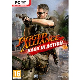 Jagged Alliance Back In Action PC DVD