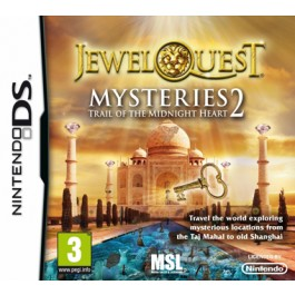 Jewel Quest Mysteries 2 Trail of the Midnight Heart Nintendo DS