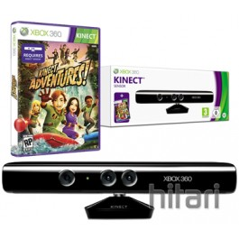 Kinect Sensor Project Natal with Kinect Adventures Game Xbox 360