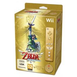 The Legend of Zelda Skyward Sword Limited Edition Gold Wii Remote Bundle