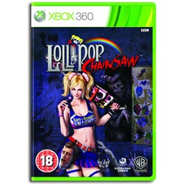 Lollypop Chainsaw Xbox 360 lollipop