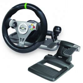 Madcatz Officially Licensed Wireless Racing Wheel For Xbox 360