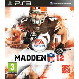Madden NFL 12 American Football Sony PS3