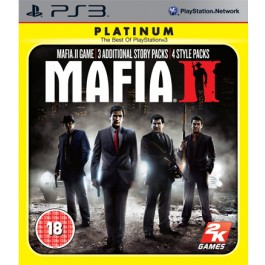 Mafia II Platinum Edition Sony PS3