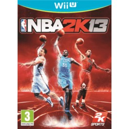 NBA 2K13 Nintendo Wii U Basketball