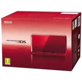 Nintendo 3DS Handheld Console Metallic Red