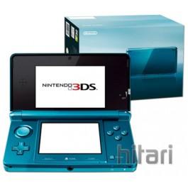 Nintendo 3DS Handheld Console Aqua Blue