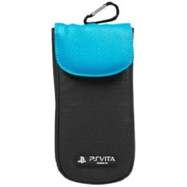 Officially Licensed 4Gamers Clean 'n' Protect Pouch - Blue PS Vita