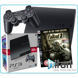 Sony PlayStation3 PS3 320GB Console with Fallout 3 of the Year Edition
