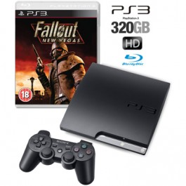 Sony PS3 Console 320GB with Fallout New Vegas Bundle