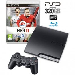 Sony PS3 Console 320GB with FIFA 11 Bundle
