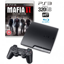 Sony PS3 Console 320GB with Mafia 2 Collectors Edition Bundle