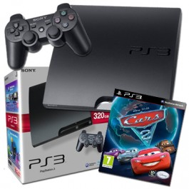 Sony PlayStation3 PS3 320GB Console with Cars 2
