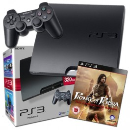 Sony PlayStation 3 PS3 320GB Console with Prince of Persia