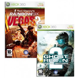Rainbow 6 Vegas 2 and Ghost Recon Double Pack Xbox 360