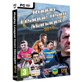 Rugby League Team Manager 2015 PC DVD