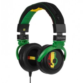 Skullcandy GI Headphones Rasta Gaming Headset