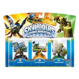 Skylanders Spyros Adventure Triple Character Pack Drobot, Stump Smash, Flameslinger