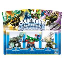 Skylanders Spyros Adventure Triple Characters Voodood Boomer Prism Break