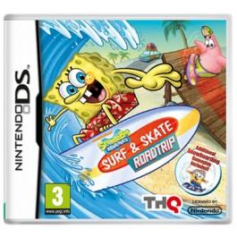 SpongeBob Surf + Skate Road Trip Nintendo DS