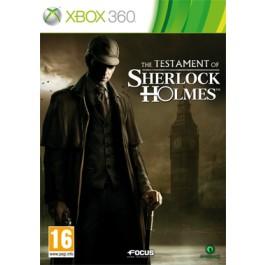 The Testament of Sherlock Holmes Xbox 360