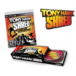 Tony Hawk Shred and Board Bundle Sony PlayStation 3 PS3