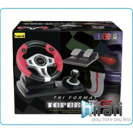 TopDrive GT 3 in 1 wheel PS3 PS2 PC