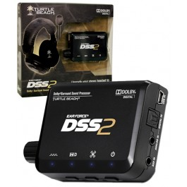Turtle Beach Earforce DSS 2 Processing Unit PS3 Xbox 360 PC Mac
