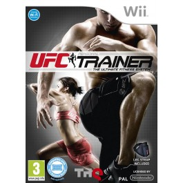 UFC Personal Trainer with Leg Strap Nintendo Wii