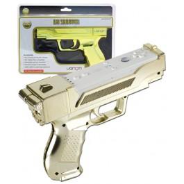 VX Shooter Gun Golden Edition for Nintendo Wii and Wii U