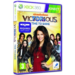 Victorious Time To Shine Kinect Compatible Xbox 360 Singing and Dancing