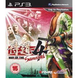 Way of the Samurai 4 Sony PS3