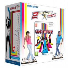We Dance with 2 Mats Dancing Nintendo Wii