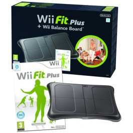 Nintendo Wii Fit Plus with Black Balance Board