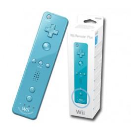 Nintendo Wii Remote Plus with built-in MotionPlus - Blue Wii + Wii U