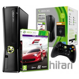 Xbox 360 250GB Console Includes Forza 4 and Full Download of Skyrim