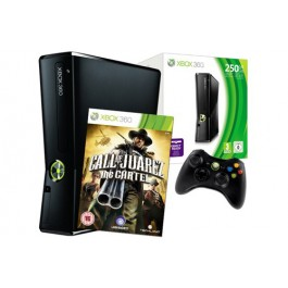 Xbox 360 Console 250GB with Call of Juarez The Cartel  Xbox 360