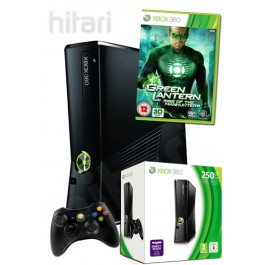 Xbox 360 Console 250GB with Green Lantern Rise of the Manhunters Xbox 360