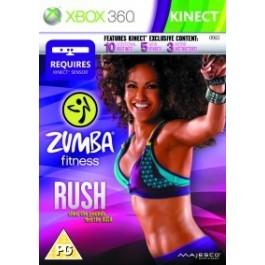 Zumba Fitness Rush Kinect Required Xbox 360