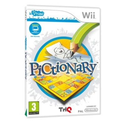 Pictionary game nintendo wii