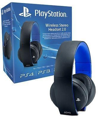 how to connect playstation wireless headset to ps4