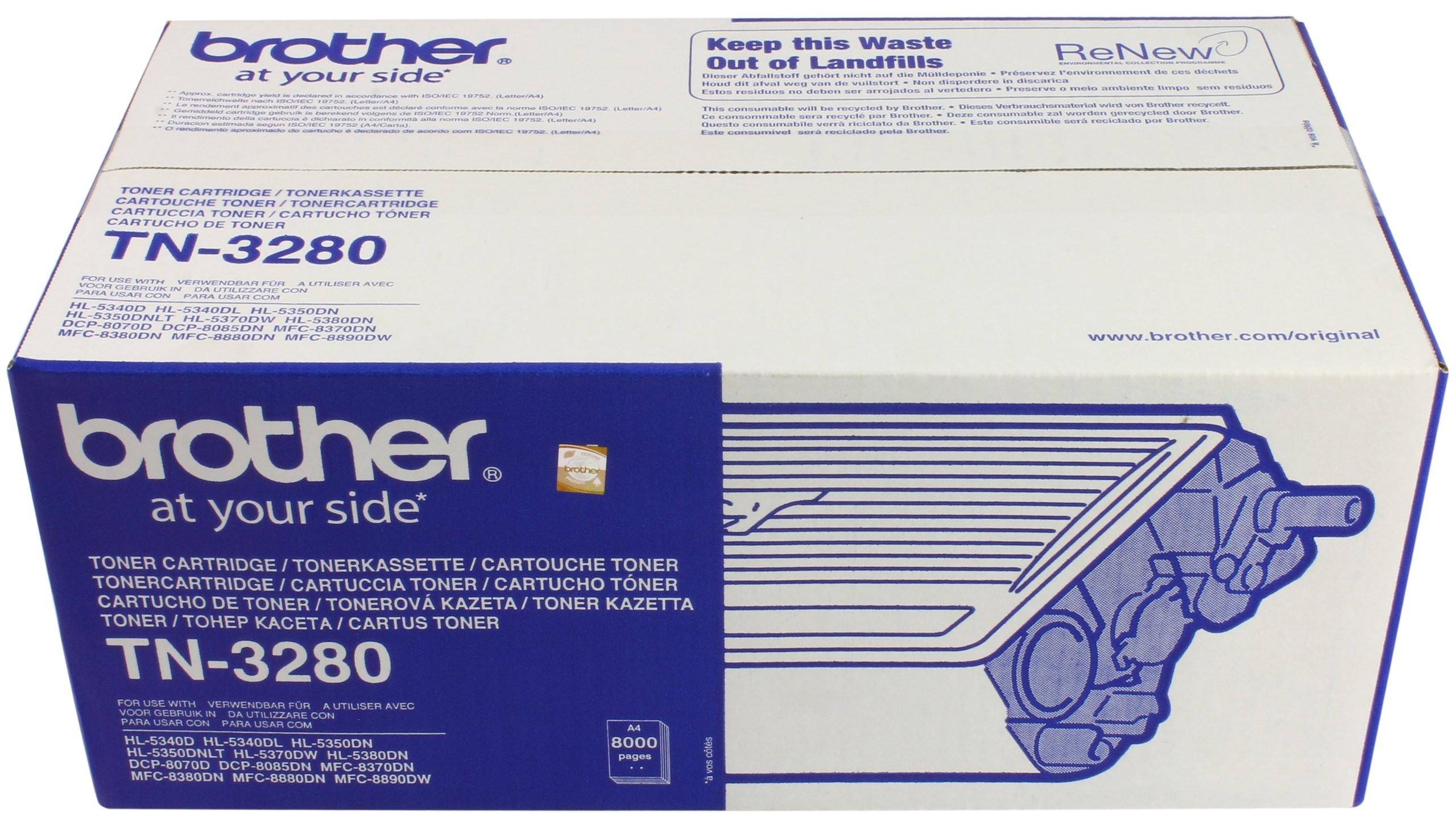 Brother Tn 3280 Toner Cartridge