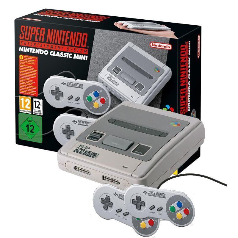Super Nintendo Entertainment System : Classic mini super nintendo entertainment system snes