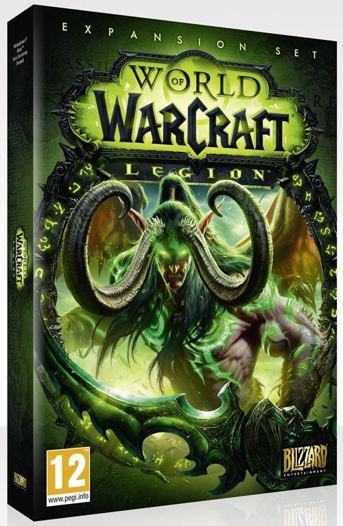 World Of Warcraft Legion Pc Dvd Mac Wow Legion Game